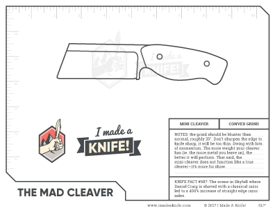 photo regarding Printable Knife Templates identified as Downloadable Knife Templates - I Intended A Knife!